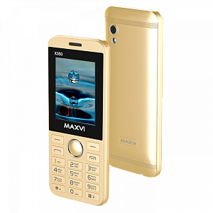 Maxvi X350 metallic gold