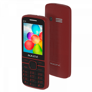 Maxvi C11 red