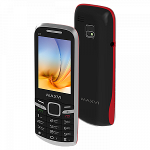 Maxvi K7 black-red