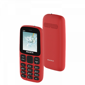 Maxvi C21 red
