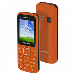 Maxvi C5 orange